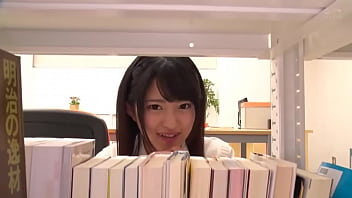 Provocative Petite Japanese Schoolgirl Fucks In Library   Mitsuki Nagisa